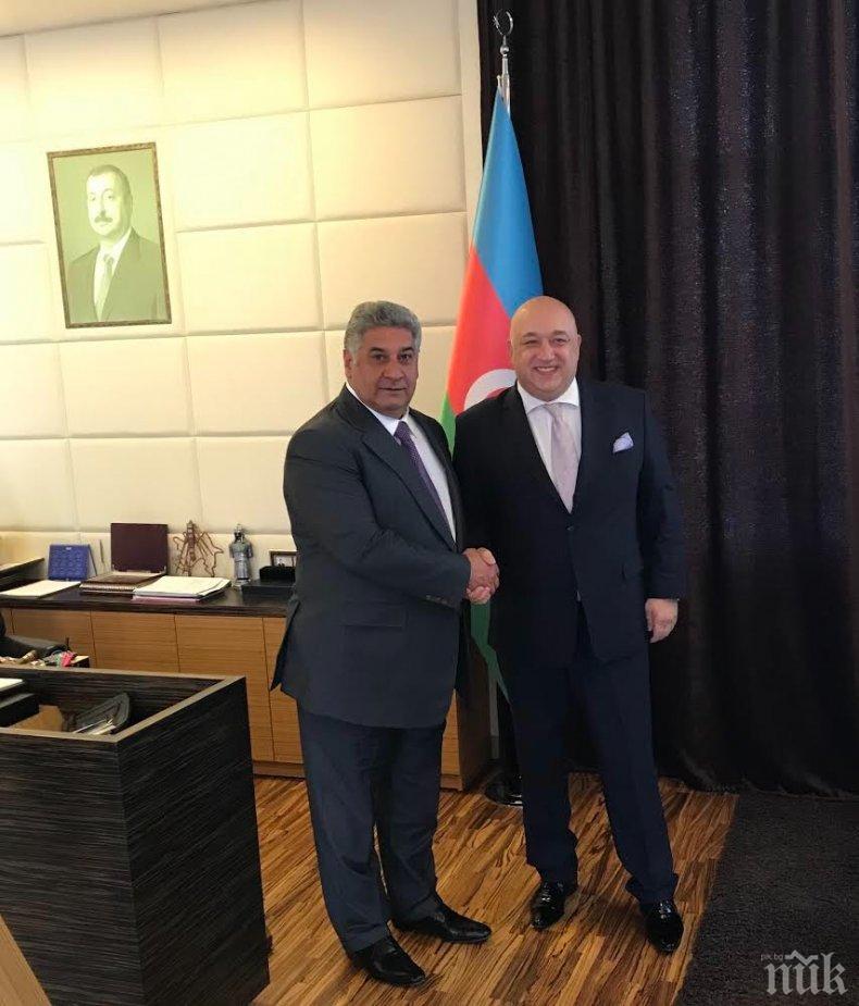 Министрите на спорта Кралев и Рахимов обсъдиха сътрудничеството между България и Азербайджан
