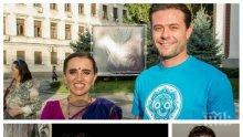 """НОВА РЕЛИГИЯ: Мюсюлманинът Фахрадин Фахрадинов се кланя на Кришна - актьорът от """"Забранена любов"""" възпитава дъщеря си според индуистката философия"""