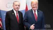 """Ердоган предложи сделка за ракетите """"Пейтриът"""" на президента Тръмп"""