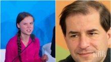 БЕЗПОЩАДНО: Борислав Цеков срази климатичната активистка Грета с писмо: Откъде накъде ще прекрояваме живота си по твоите сбъркани и невежествени представи за света? Иди да учиш и работиш...