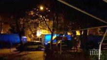 ЕКШЪН В ПЛОВДИВ: Пиян потроши заведение, наби момче от персонала и налетя на сотаджия