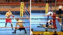 НОВИ РАЗКРИТИЯ: Починалият български боксьор в Албания се нагълтал с виагра преди мача