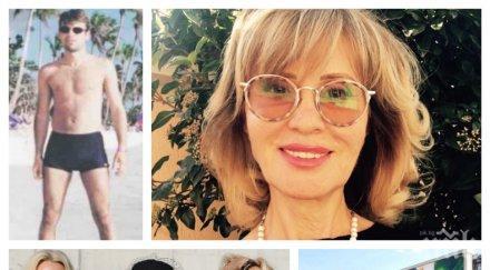 СКРИТИ ЗАЛОЖБИ: Тъщата на Таки се оказа голям талант - ето в какво е майсторка майката на близначките Шехтови (СНИМКА)