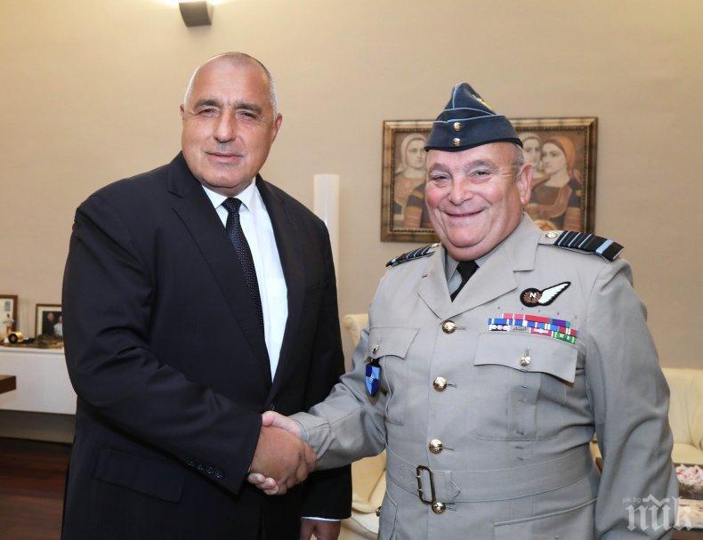 Борисов: Членството ни в НАТО и ЕС е основа на отбранителната политика на България