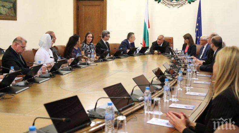 Премиерът Борисов: Работим не само за качествено здравеопазване, но и за достъп до най-модерните методи за лечение