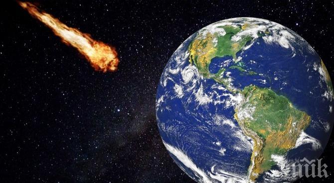 Астероид с размерите на три Хеопосови пирамиди лети към Земята