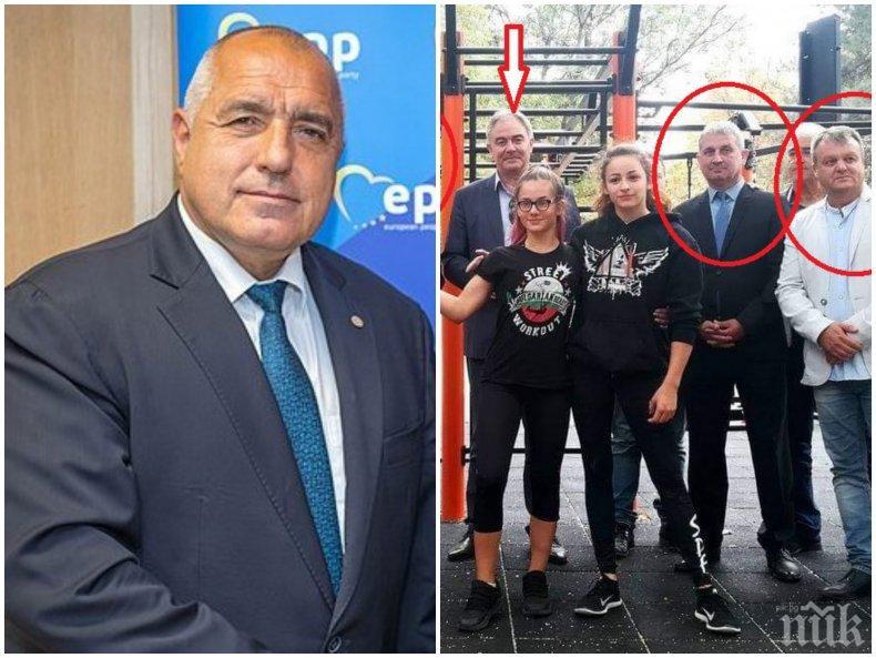 С кого играе ГЕРБ в Плевен? Активисти на Борисов крепят кмета на ДеБъ Спартански. Удрят официалния кандидат на партията (СНИМКА)