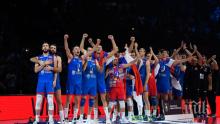 Крайно класиране на Европейското по волейбол, купата е за...