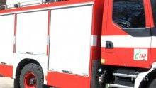 Газова бутилка предизвика пожар в мазе, пенсионер е с изгаряния