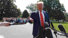 Остро: Доналд Тръмп разкритикува Джо Байдън и демократите