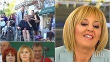 """Безхаберието на """"журналистите"""" - дръжки на микрофони пред Мая Манолова. Видяхме защо не й е удобна Ива Николова (ВИДЕО)"""