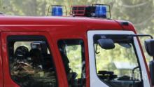 Камион горя в плевенско село