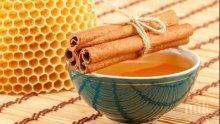 Яжте всяка сутрин мед с канела и...