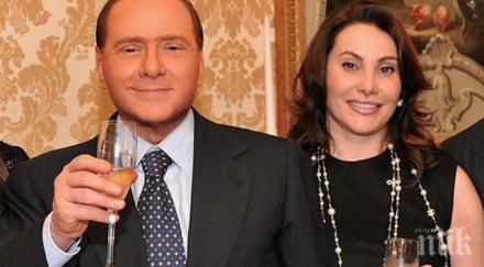Дарина Павлова се обясни в любов на Берлускони