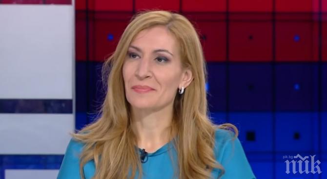ИЗВЪНРЕДНО В ПИК TV: Ангелкова за скандала със Сидеров: Отношенията в малката коалиция са си между тях