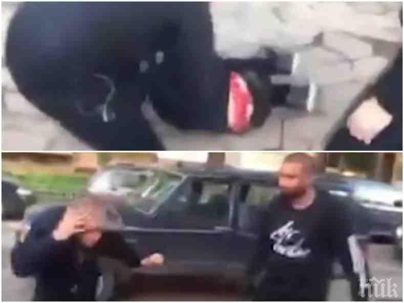 ШОКИРАЩО ВИДЕО: Наркодилъри пребиха от бой момче посред бял ден в София (18+)