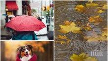 ВРЕМЕТО СЕ ОБЪРНА: Дъжд, гръмотевични бури и градушки през целия ден - ето къде ще е най-опасно! Температурите се сринаха (КАРТИ)