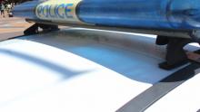 Патрулка удари мотоциклет при полицейско преследване (СНИМКИ)