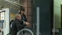 """АБСУРД: """"Социално подпомагане"""" в Чирпан недостъпно за колички"""