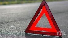 """ИЗВЪНРЕДНО: Голяма катастрофа затвори магистрала """"Хемус"""" край Варна (ОБНОВЕНА)"""