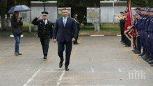 """Младен Маринов на клетва на стажанти в """"Гранична полиция"""": Пътят който сте избрали, е пътят на честта! (СНИМКИ)"""