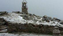 Снежна покривка по високите върхове в България