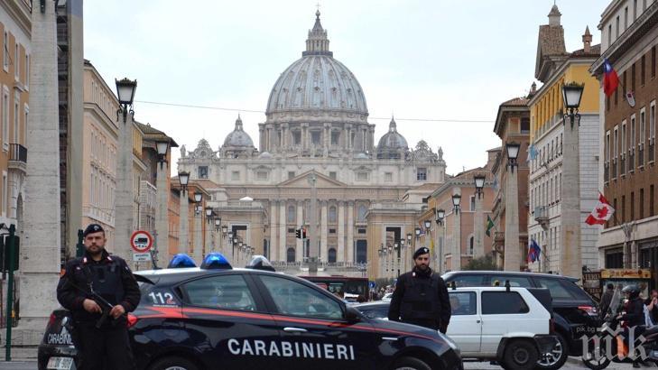 АКЦИЯ: Обиски във Ватикана заради финансови машинации
