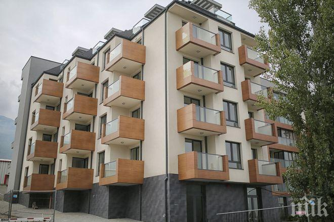 30% от новите жилища - с кредит, 8000 строежа никнат в София