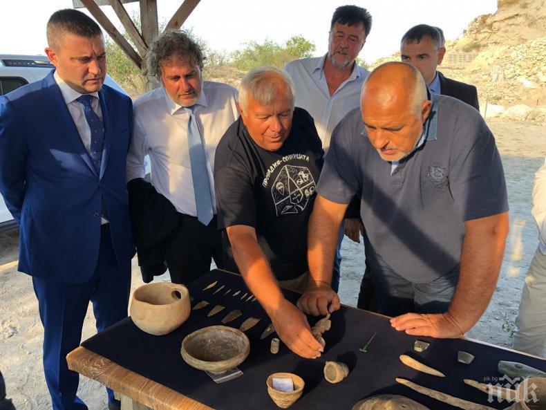 ПЪРВО В ПИК TV! Борисов обеща подкрепа за Праисторическия солодобивен и градски център в Провадия - мястото ще бъде достъпно за туристи (СНИМКИ/ОБНОВЕНА)