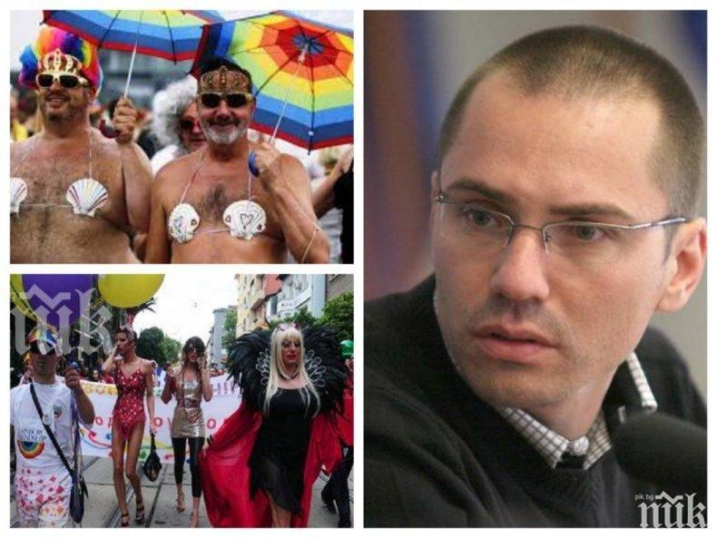 "ЕКСКЛУЗИВНО В ПИК: Ангел Джамбазки съсипа организаторите на гейпрайда: Никакви ""паради"" по софийските улици!"