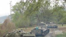 """61-ва Стрямска бригада маневрира на """"Корен"""""""