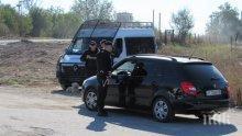 10 души са арестувани при спецакцията срещу алоизмамници във Ветово