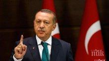 Президентът на Турция обясни причините за започване на военна операция в Сирия