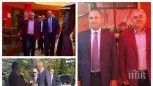 ПЪРВО В ПИК! Президентът Радев гази яко законите - участва пряко в предизборната кампания на БСП (СНИМКИ)