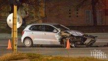 Пиян се натресе в паркирана кола в Лом и избяга