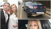 """САМО В ПИК И """"РЕТРО"""": Деси Банова подкара блъснат джип"""