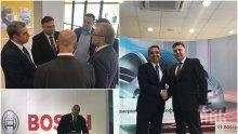 ПРОБИВ: Кандидат-кметът на Плевен Мирослав Петров води топ инвеститори в града след среща с премиера Борисов и световния бизнес (СНИМКИ)