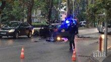 ОТ ПОСЛЕДНИТЕ МИНУТИ: Тежка катастрофа блокира Пловдив, затворен е ключов булевард (СНИМКИ)