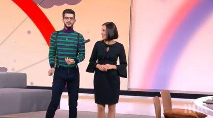 ИЗЛАГАЦИЯ В ЕФИР: Деси Стоянова скастри Сашо Кадиев: Прибери си крайниците!