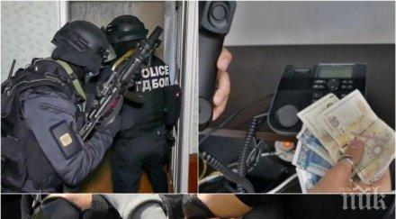 ИЗВЪНРЕДНО В ПИК: Ето ги арестуваните ало измамници от Ветово, тънат в лукс и разкош (СНИМКИ)