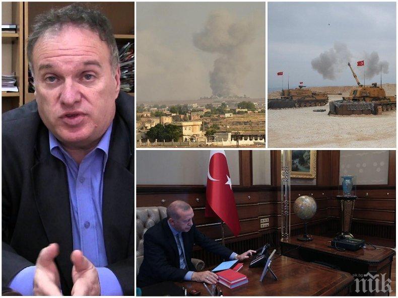 Анализаторът Владимир Чуков с ексклузивен коментар за войната в Сирия