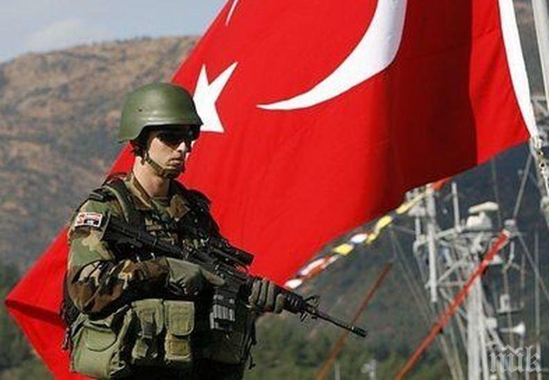 Турските части в Сирия се придвижват на изток от река Ефрат