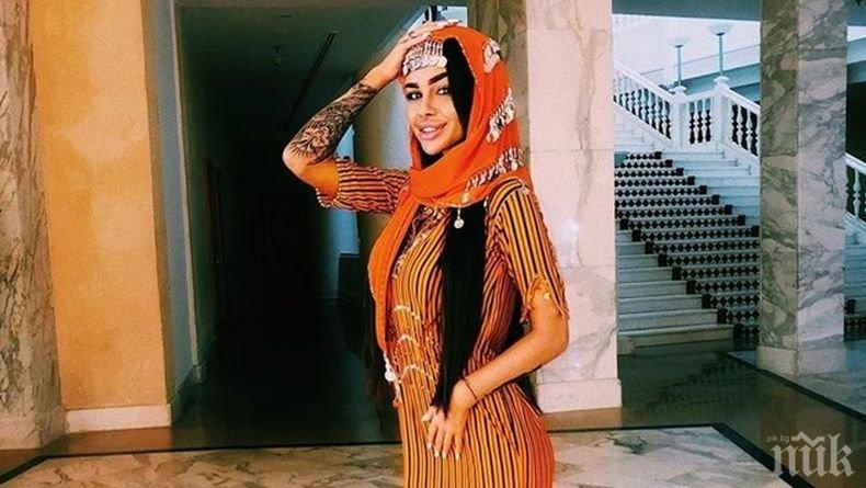 Сузанита се забули в Египет