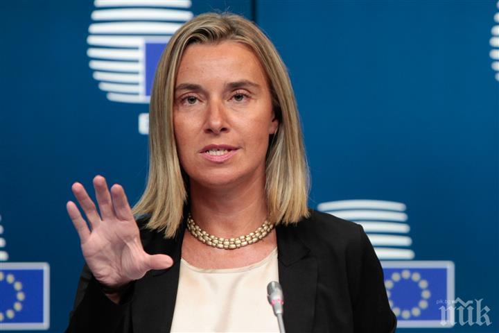 Първият дипломат на ЕС загрижена за потенциалните последствия от турската операция в Сирия