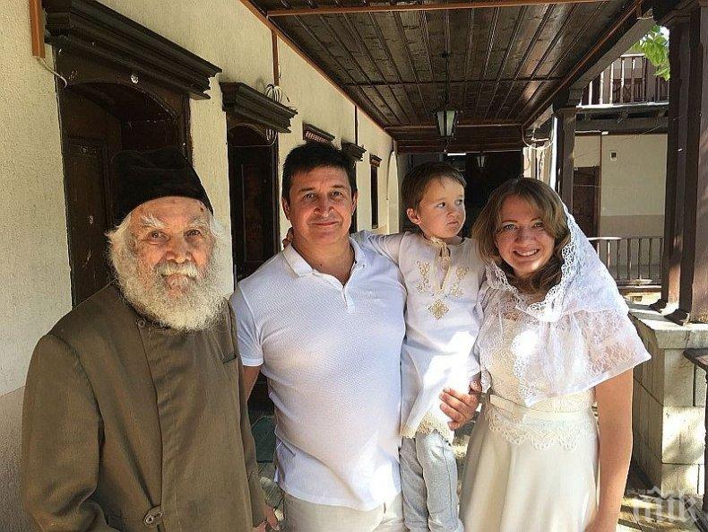 Руско семейство се сдоби със син след молитва в Бачковския манастир