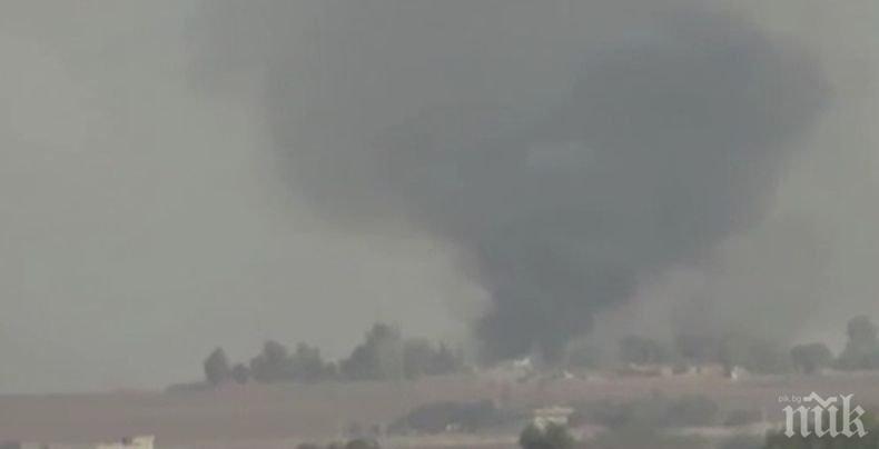 Най-малко 14 пострадали при обстрел на град Камишли в Сирия от турската армия