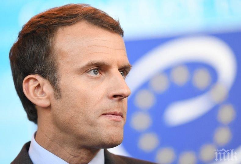 Президентът на Франция решително осъди стрелбата в германския град Хале