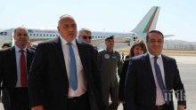 ЕКСКЛУЗИВНО В ПИК: Премиерът Бойко Борисов пристигна в Хашемитско кралство Йордания (СНИМКИ)
