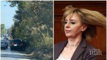 ПЪРВО В ПИК: Крият катастрофата с Мая Манолова на Околовръстен път (СНИМКИ)