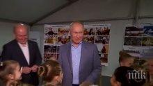 Владимир Путин доволен от започването на политически диалог за Сирия